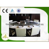Wholesale 9 Seat Fan Shape Gas Teppanyaki Grill Table With Exhaustion / Purification System from china suppliers