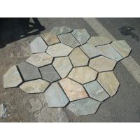 Wholesale Oyster Split Face Slate Flagstone Walkway/Stone Cladding Oyster Flagstone Patio Stones from china suppliers