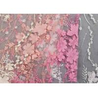 Wholesale Colourful Lace Material For Dressmaking / Embroidered Sequin Fabric SGS Approval from china suppliers