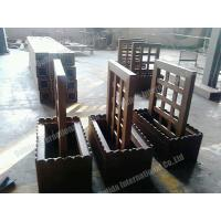 Wholesale flower pot with trellis OLDA-7009  1518mm*576mm*1312mm from china suppliers