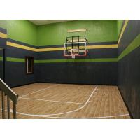 Wholesale Artificial Maple Hardwood Gym Flooring Noise Insulation For Basketball Court from china suppliers