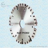 Wholesale Diamond Turbo Tuck Point Cutting Blade for Granite and Concrete Engroove - TPCB02 from china suppliers