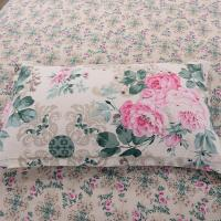 Quality China Manufacturer Pure Cotton Flowers Design Duvet Cover Sets for sale