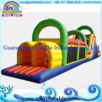 Wholesale Giant commercial inflatable obstacle  pvc tarpaulin for interactive game from china suppliers