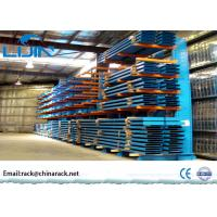 Wholesale Custom Lumber Bulk Storage Racks , Roll Steel Cantilever Warehouse Racks from china suppliers