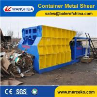 Wholesale Container Type Horizontal Scrap Metal Shear to cut waste copper & aluminum with customized feeding mouth size from china suppliers