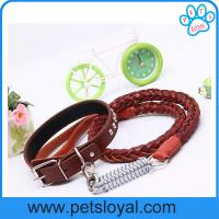 Wholesale Hot Sale Leather Dog Leash Collar China Factory Wholesale from china suppliers