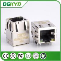 Wholesale Led Panel Mount Single Port Rj45 Network Connector KRJ - 5921S11GYZENL from china suppliers