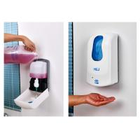 Wholesale DC 6V Commercial Wall Mounted Soap Dispenser Plastic Hand Washing Dispenser from china suppliers