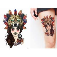 Buy cheap Different Patterns Realistic Body Art Fake Tattoo Stickers Water Transfer Non Permanent from wholesalers