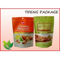 Wholesale Stand Up Snack Food Ziplock Plastic Pouch Flexible Packaging Bag Matt / Gloss from china suppliers