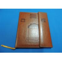 Wholesale offset Leather Bound Book Printing from china suppliers