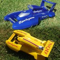 Wholesale RS-757069B Yellow/Blue R/C Remote Controlled Racing Boat RTR from china suppliers