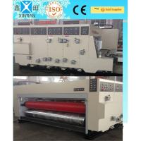 Wholesale Power Saving Flexo Printing Machine With 100 Pieces / Min Max Speed , High Efficiency from china suppliers