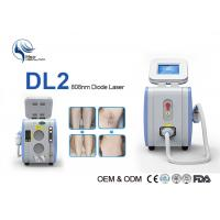 Buy cheap 10 Bars 808nm Diode Laser Hair Removal Machine High Power Laser Epilator 12 * 12mm Spot with Germany imported from wholesalers