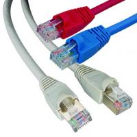 Buy cheap TIA / EIA 568B wired UTP Patchcords cat5e patch cables with RJ45, UL list from wholesalers