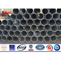 Wholesale Multi Side 69 KV -132 KV Galvanized Steel Pole Tubular Steel Structures With Bitumen from china suppliers