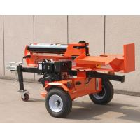 Wholesale 42T Fluid Pressure Firewood Log Splitter with Gasoline engine / recoil / electric start from china suppliers