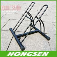 Wholesale Two position steel bicycle wheel racks stand for parking from china suppliers