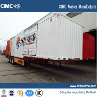 Wholesale CIMC tri-axle 48ft dry van trailer 50 tons from china suppliers