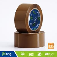 Wholesale Clear and Brown High Quality BOPP Adhesive Sealing Tape for Carton Packing from china suppliers