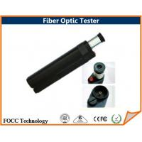 Wholesale White Led Light Fiber Optic Tester , Fiber Inspection Microscope 400 Zoom Times from china suppliers