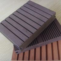 Wholesale OEM / ODM Solid Composite Decking SPA Surround , WPC Decking Board from china suppliers