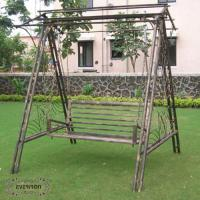 Wholesale Iron craft swings garden products outdoor furniture from china suppliers