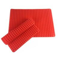 China Flexible Silicone Pyramid Baking Mat , Non Stick Silicone Baking Mat For Healthy Cooking on sale