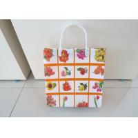 Wholesale Lady Reusable Custom Printed Shopping Bags Square Bottom Wear Resistant from china suppliers