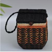 Wholesale 2016 Hot sale Europe Style Paper Rope Mini Basket, tea packing basket, storage basket from china suppliers