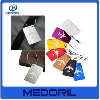 Wholesale Wholesale aluminium alloy luggage tag custom design cheap travel luggage tag from china suppliers