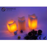 Wholesale Square Dripping  Electric Led Candles Wax With Fake Wick EL-006 from china suppliers