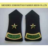 Wholesale Custom Black Saudi Arabia Security Uniform Shoulder Epaulets With SGS from china suppliers