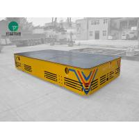 Wholesale Heavy duty 300mm rubber wheel industrial trackless transfer cart from china suppliers