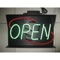 Buy cheap High Brightness Customizable Big / Small Neon Open Signs With ROHS / CE from wholesalers