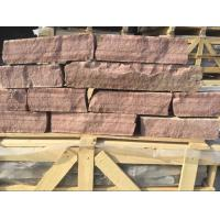 Wholesale Red Sandstone Field Stone Natural Random Stone Veneer Natural Ledger Stone from china suppliers