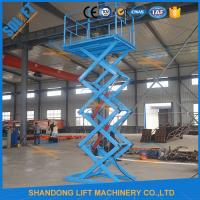 Wholesale 1.5T 3.8M Stationary Hydraulic Scissor Lift , Scissor Lifting Equipment SGS TUV from china suppliers