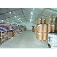 Wholesale Pvc Fabric Cover Industrial Warehouse Tent , Temporary Industrial Tent Structures from china suppliers