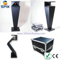 """Quality 3D Virtual Projection Holographic Display 3D Pyramid 22""""-84"""" Full HD Built-in Speakers for sale"""
