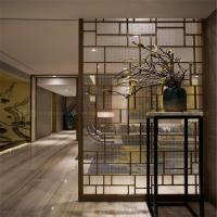 Buy cheap Decorative Metal Screen interior partition wall panel designs customized metal furniture from wholesalers