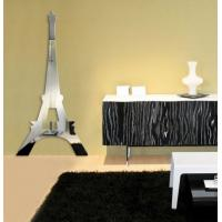 Wholesale Eiffel Tower Wall Mirror decal Sticker Removable from china suppliers