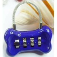 Wholesale 3 Digital bone Shaped Combination Lock from china suppliers