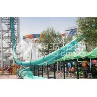 Wholesale Aqua Loop Huge Fiberglass Water Slides For Adult , Fixed Type Slide for Amusement Park from china suppliers