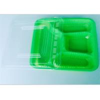 Wholesale Four Compartment PP Food Tray Food Takeaway Packaging For Dinner , Ce Certificate from china suppliers