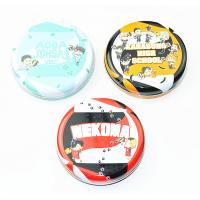 Wholesale Dia 35 - 45mm Round Metal Tin Containers For School Kids / Holiday Gift Packing from china suppliers