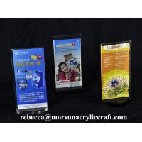 Wholesale Acrylic Menu Hoder For Restaurant Promotion Restaurant Menu Displayer from china suppliers