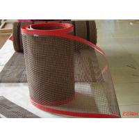 Wholesale High Temperature Resistant Open Fiberglass PTFE Mesh Edge Reinforced Non Sticky from china suppliers