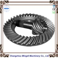 Wholesale Customized 2M - 20M Differential Bevel  Spiral Gear Tansmission Parts For Truck Tractor from china suppliers