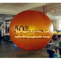 Wholesale Advertising Ball 2017 New Customized Gold Inflatable Helium Balloon with Logo for Sale from china suppliers